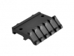 Lion Gears Tactical Picatinny 45 Degree Angle Mount, 5 Slots, Low Profile