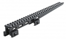"Lion Gears 30-Slot 1"" Hi-Profile Extended Picatinny Riser, 12"" Long"